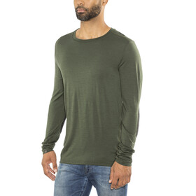 Lundhags M's Merino Light LS Tee Dark Forest Green